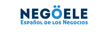 Negoele's logo, Spanish courses for business